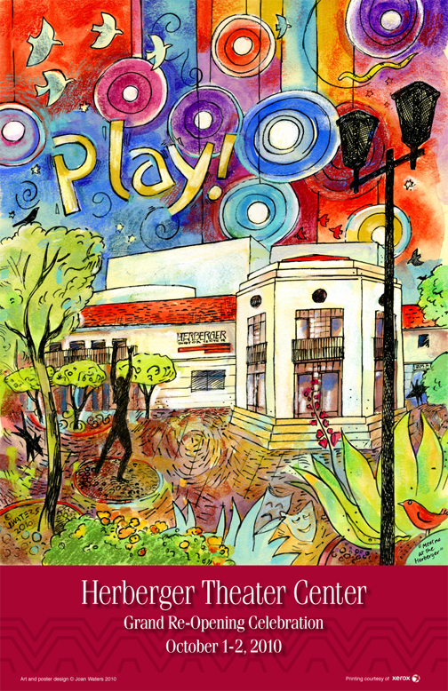 "Herberger Poster ""Play!"""