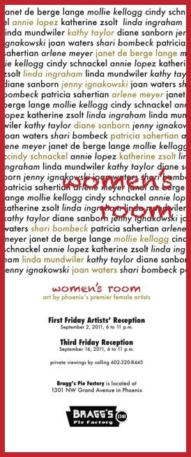 Women's Room invitation