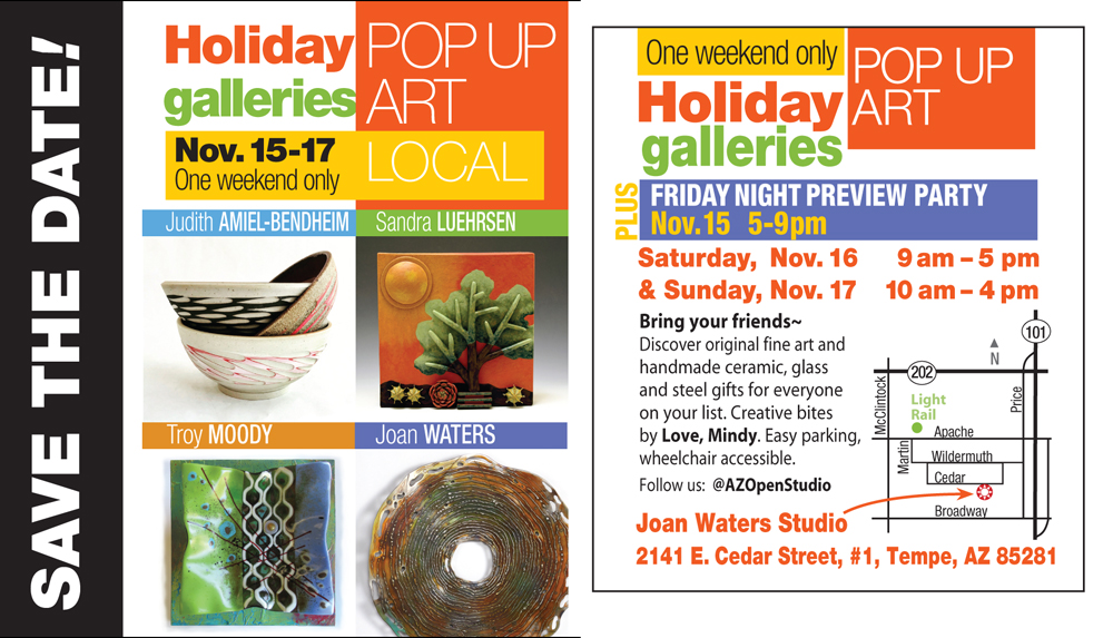 Holiday popup